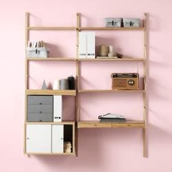living room storage - ikea