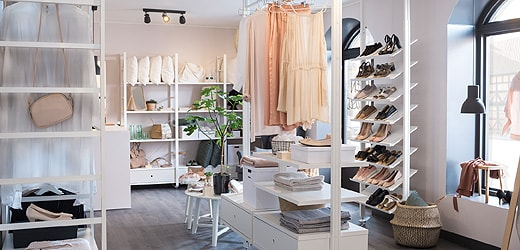 Go To Clothes Shoe Storage System