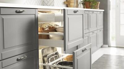 SEKTION kitchen cabinets