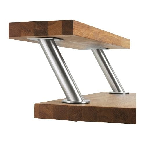 Capita Bracket Stainless Steel Ikea